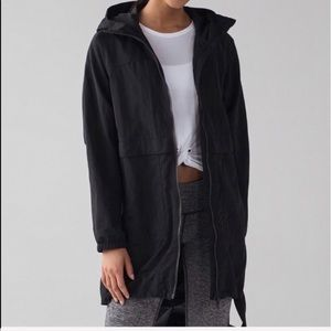 LULULEMON EASY AS JACKET BLACK NWT 12